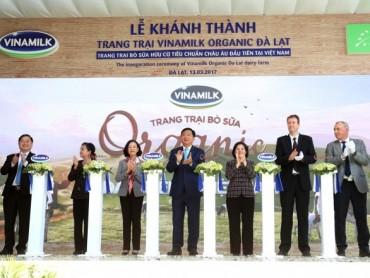 Khánh thành trang trại bò sữa Organic tiêu chuẩn châu Âu đầu tiên tại Việt Nam