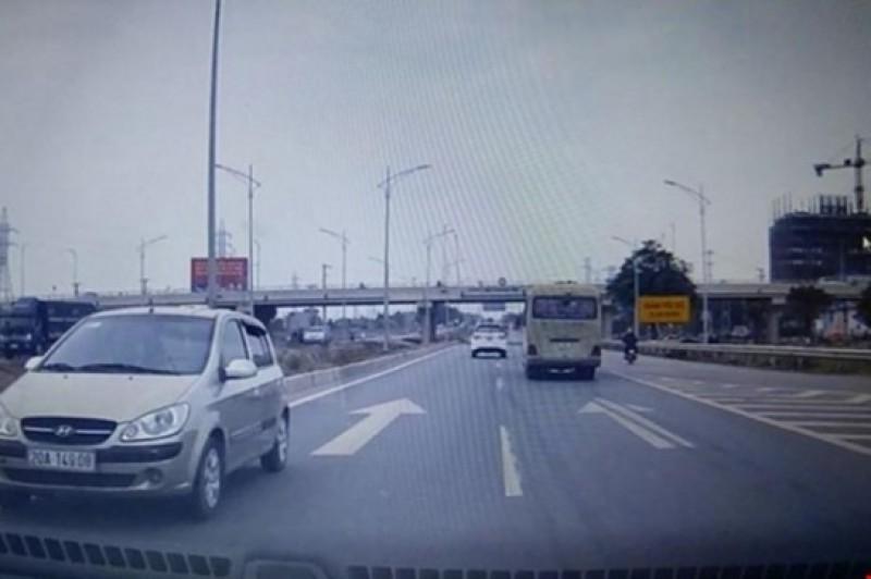 Xử lý lái xe đi ngược chiều trên cao tốc Hà Nội-Bắc Giang