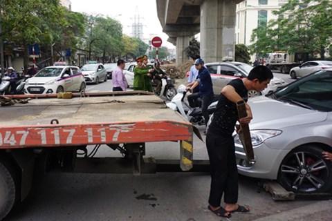 Hà Nội: Sẽ thu hồi giấy phép các bãi xe vi phạm
