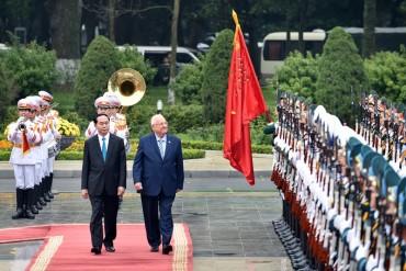 Việt Nam - Israel: Đưa quan hệ hợp tác đi vào chiều sâu