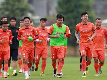 ĐT Việt Nam khởi động trước vòng loại Asian Cup
