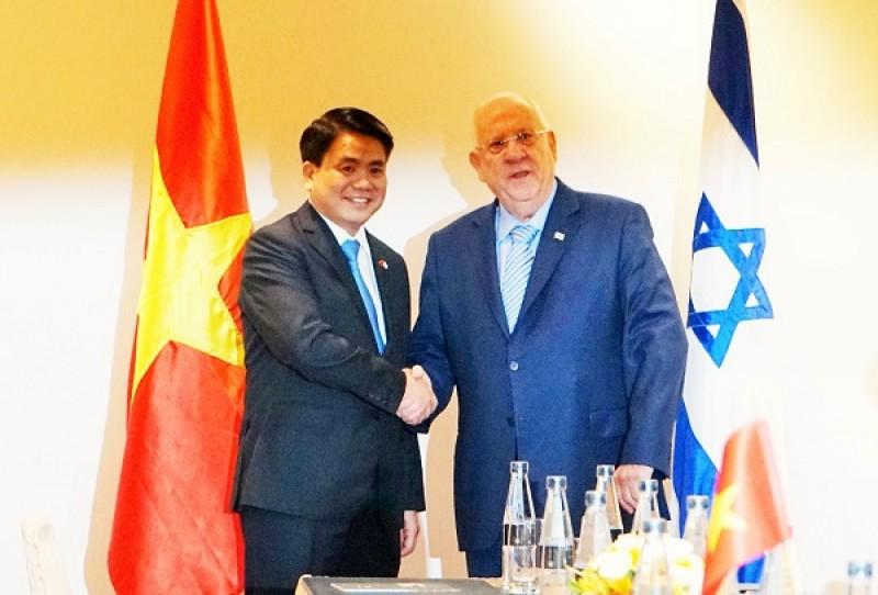 Hà Nội: Kiến nghị 8 đề xuất hợp tác với Israel