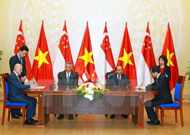 Việt Nam - Singapore: Làm sâu sắc quan hệ đối tác chiến lược