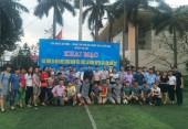 Đội Công đoàn Công ty TNHH Điện Stanley Việt Nam giành Cúp vô địch