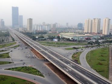 Hà Nội sắp làm đường trên cao trục Trường Chinh