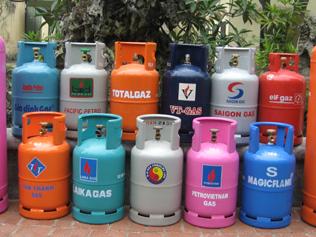 Giá gas giảm mạnh 13.000 đồng/bình