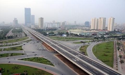 Hà Nội duyệt chỉ giới đường đỏ nút giao Vành đai 3,5 - Đại lộ Thăng Long