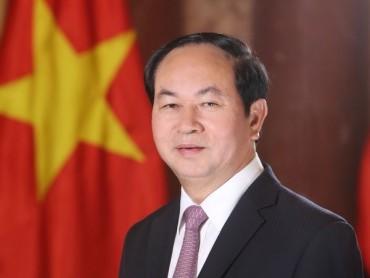 Chủ tịch nước Trần Đại Quang hội kiến Tổng thống Ấn Độ Ram Nath Kovind