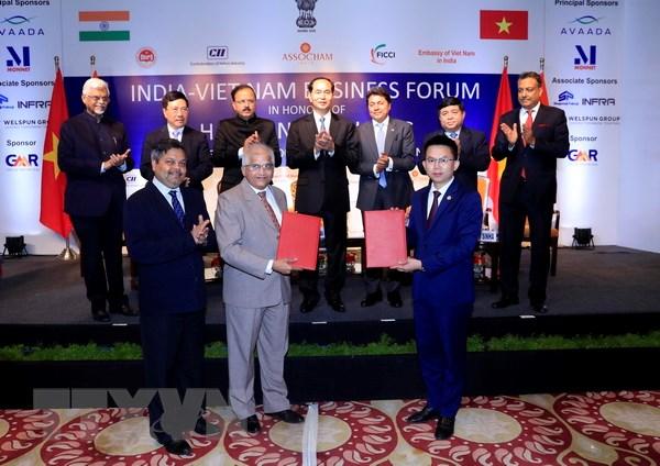 Toàn văn Tuyên bố chung giữa hai nước Việt Nam và Ấn Độ