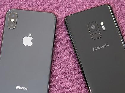 Hiệu năng Galaxy S9 bị iPhone X bỏ xa