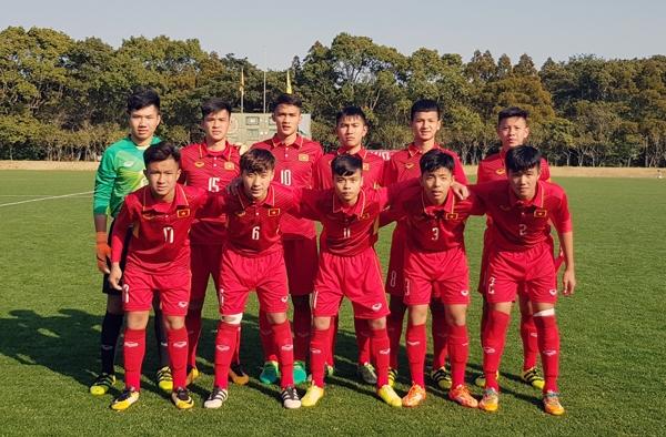 Lại thắng Thái Lan, U16 Việt Nam vào chung kết giải quốc tế