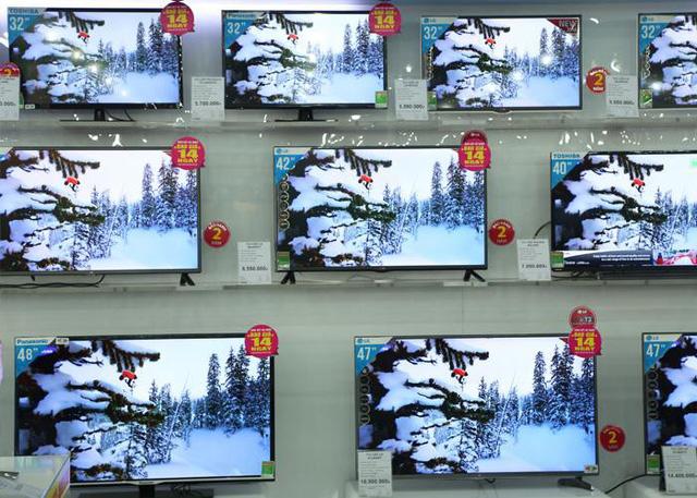 Có nên mua TV hàng trưng bày giá siêu rẻ?