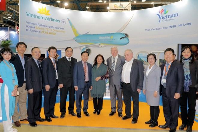 Việt Nam đặt mục tiêu đón 1 triệu du khách Nga vào năm 2020
