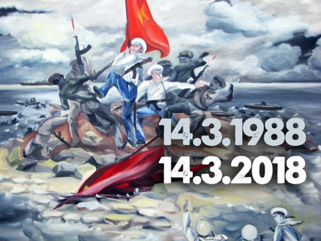 Infographic: 30 năm nhìn lại toàn cảnh trận hải chiến Gạc Ma