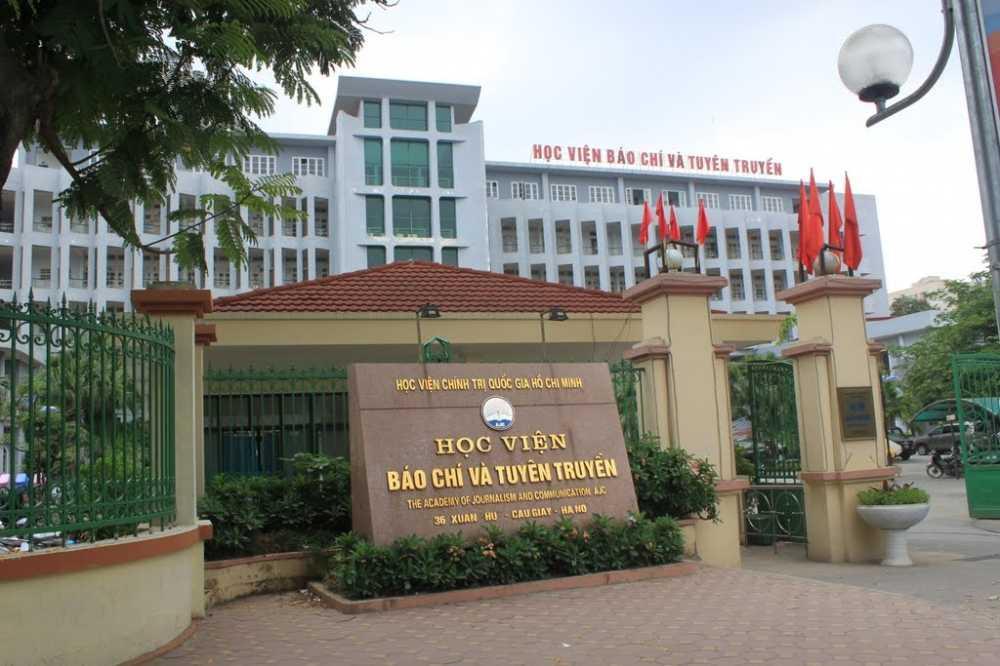 Duyệt nhiệm vụ Quy hoạch chi tiết xây dựng Học viện Báo chí và Tuyên truyền