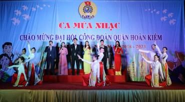Liên hoan văn nghệ chào mừng thành công ĐHCĐ quận Hoàn Kiếm