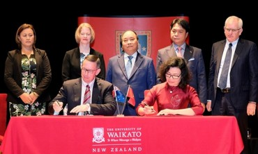 BHXH Việt Nam ký kết thỏa thuận hợp tác với Đại học Waikato
