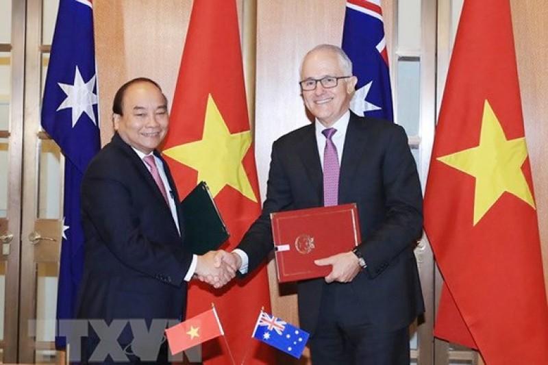 Việt Nam - Australia: Thiết lập Đối tác Chiến lược