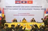 Việt Nam đóng góp tích cực trong hợp tác của Tam giác phát triển
