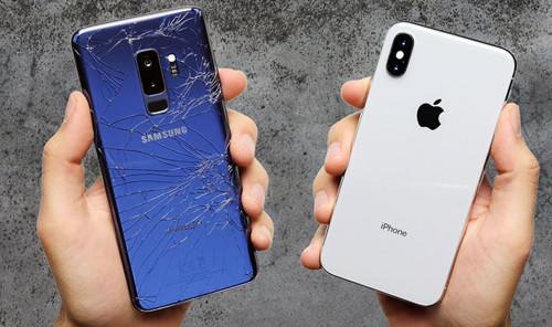 Samsung Galaxy S9+ so 'độ cứng' với Apple iPhone X