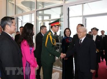 Chuyến thăm của Tổng Bí thư góp phần nâng cao hợp tác Việt - Pháp
