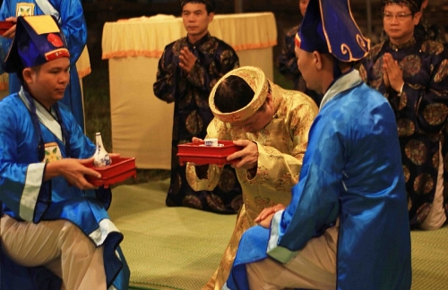Linh thiêng Lễ tế đàn Xã Tắc tại Cố đô Huế lúc rạng sáng