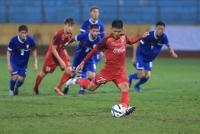 U23 Việt Nam dội cơn mưa bàn thắng vào lưới Đài Loan (Trung Quốc)