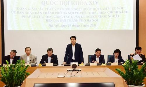 Hà Nội đưa phần mềm vào giải quyết thủ tục có liên quan đến người nước ngoài