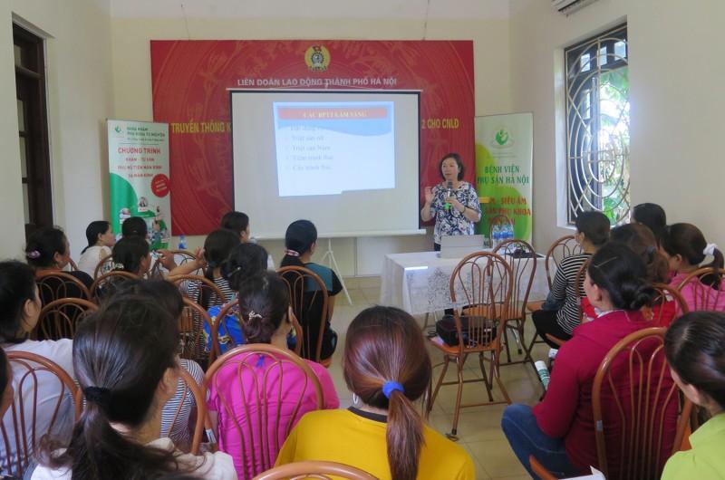 Công tác Nữ công của các cấp Công đoàn Thủ đô: Không ngừng nâng cao chất lượng