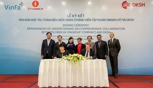 Vingroup ký kết hợp tác chiến lược với Tập đoàn DKSH (Thụy Sỹ)