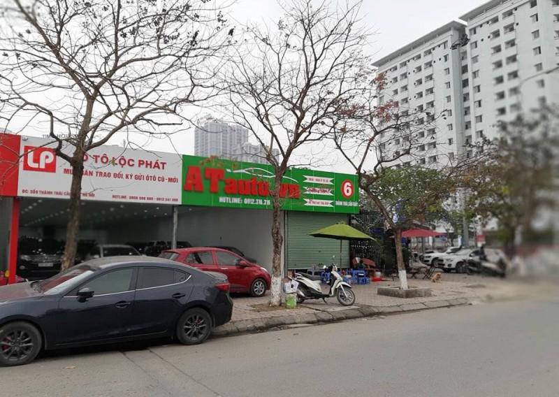 du an khu do thi moi cau giay nhieu cong trinh bai xe khong phep