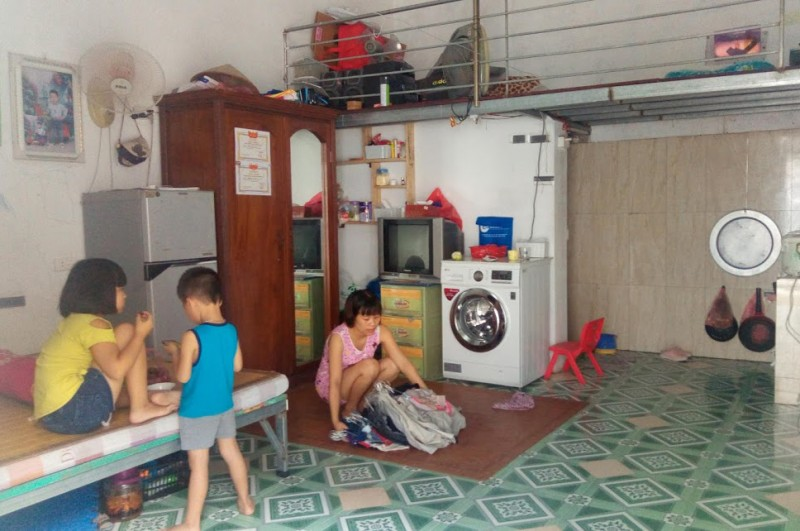 Các khu nhà trọ cho công nhân: Chất lượng ngày càng được cải thiện