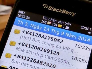 Người dùng di động sắp thoát nạn tin nhắn rác?