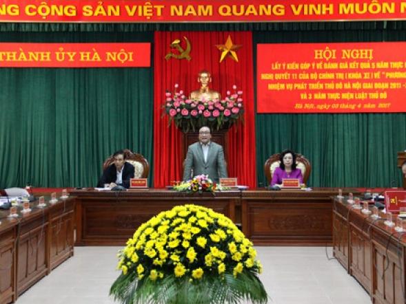 Hà Nội: Đề xuất lập đề án chính quyền đô thị