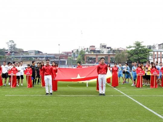Ý kiến của các đại biểu về lễ khai mạc Giải bóng đá mini