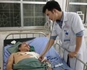 Cứu sống người bệnh tai nạn máy khoan giếng hở phổi ra ngoài