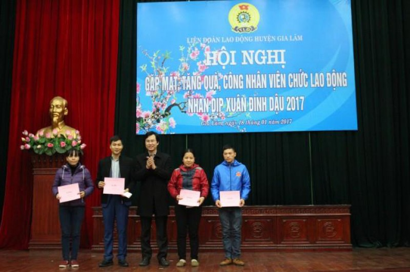 LĐLĐ huyện Gia Lâm: Nhiều hoạt động hiệu quả trong quý I/2017