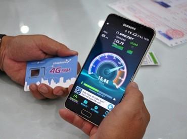 4G đã có bước phát triển nhanh chóng tại thị trường Việt Nam