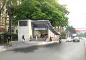 Infographic: Những tuyến đường cấm phục vụ thi công ga ngầm đường sắt đô thị Hà Nội