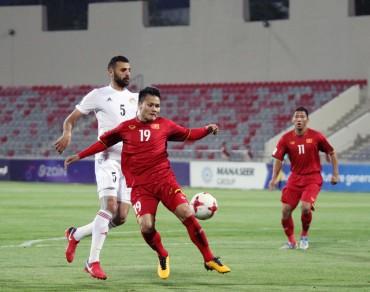 Thái Lan vẫn được xếp trên Việt Nam tại VCK Asian Cup 2019
