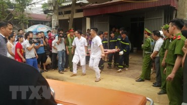 Sạt lở đất khi thi công công trình, 3 người tử vong