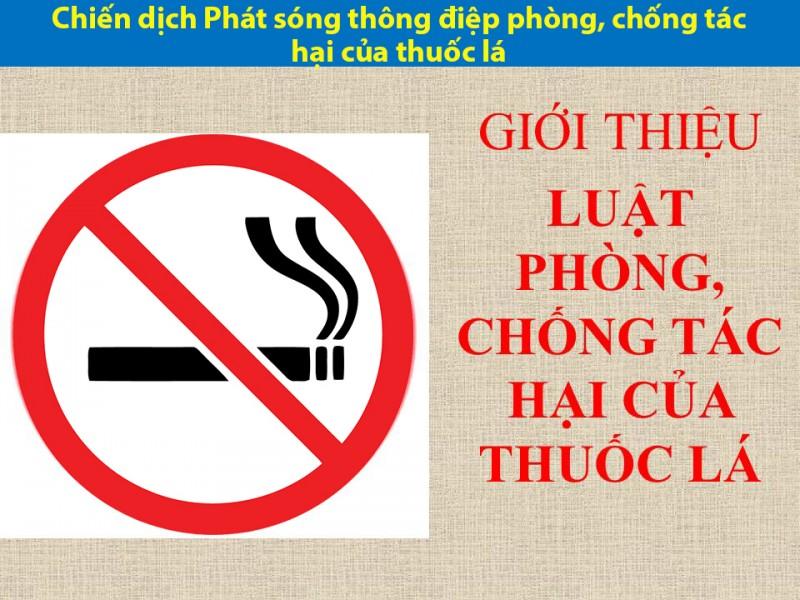 Chiến dịch Phát sóng thông điệp phòng, chống tác hại của thuốc lá