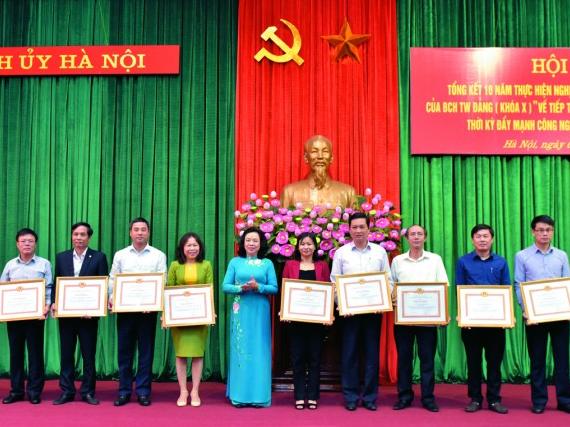 Công nhân lao động Thủ đô phát huy vai trò tiên phong