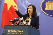 Việt Nam phản đối hoạt động của Trung Quốc tại Hoàng Sa, Trường Sa