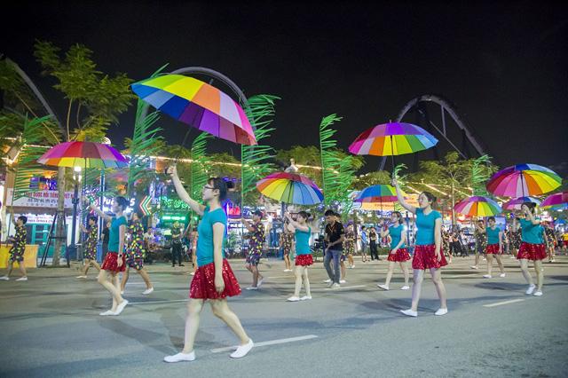 Xem trước đêm khai hội Carnaval Hạ Long 2018 sôi động