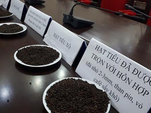 Hiệp hội Hồ tiêu Việt Nam lên án vụ tiêu giả trộn pin