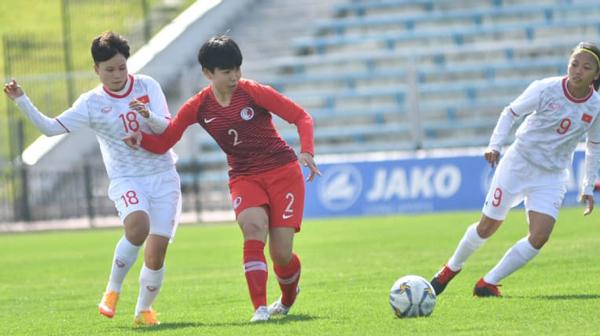 Hạ Hongkong, đội tuyển nữ Việt Nam chính thức vượt qua vòng loại thứ 2
