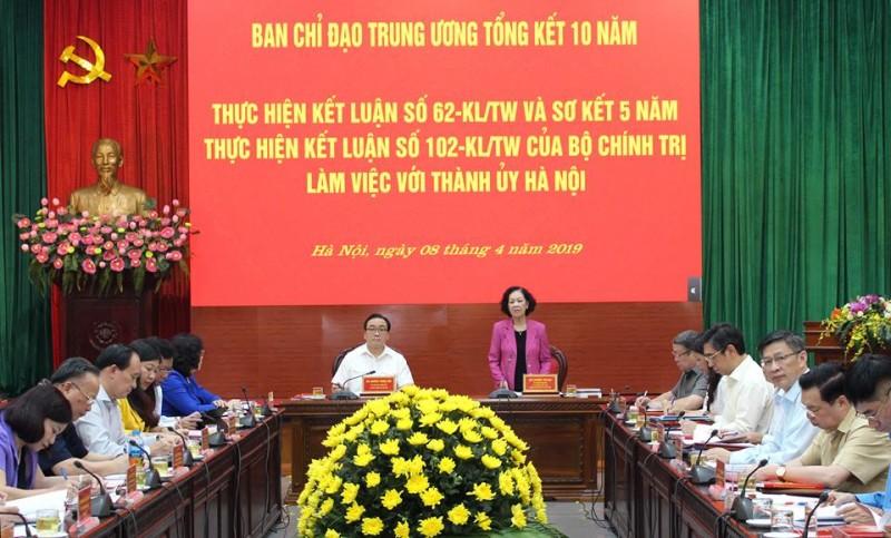 Hướng về cơ sở để phát huy quyền làm chủ của nhân dân