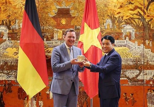 Hà Nội và Bang Thüringen (Đức): Tăng cường hợp tác, đầu tư