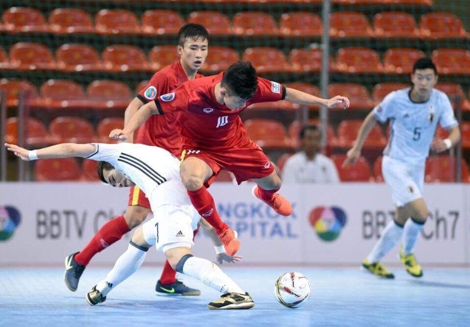 Futsal Việt Nam đụng ứng viên vô địch Nhật Bản tại giải châu Á